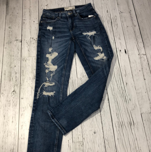 Garage distressed jeans - Hers XXS/00