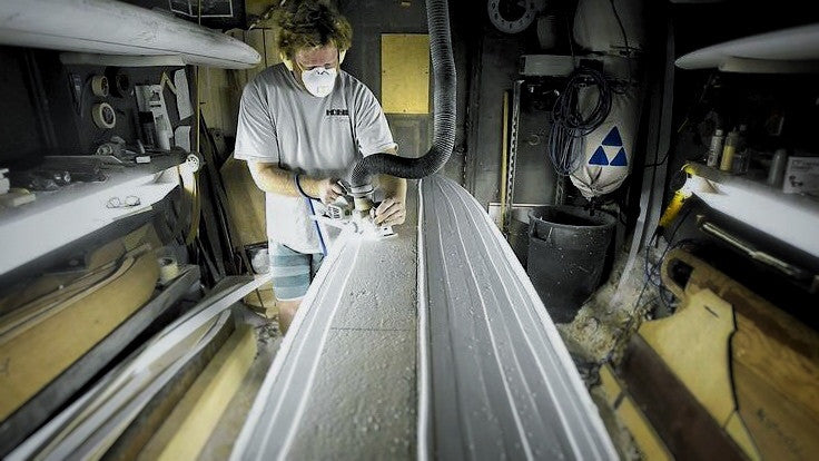 Another Martin carries on a surfboard-shaping tradition