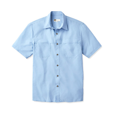 Tilley NW02 Tech AIRFLO® Shirt in Blue