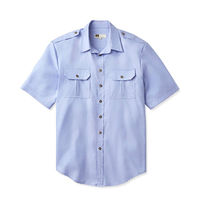 Tilley WF33 Urban Safari Bush Shirt in Blue