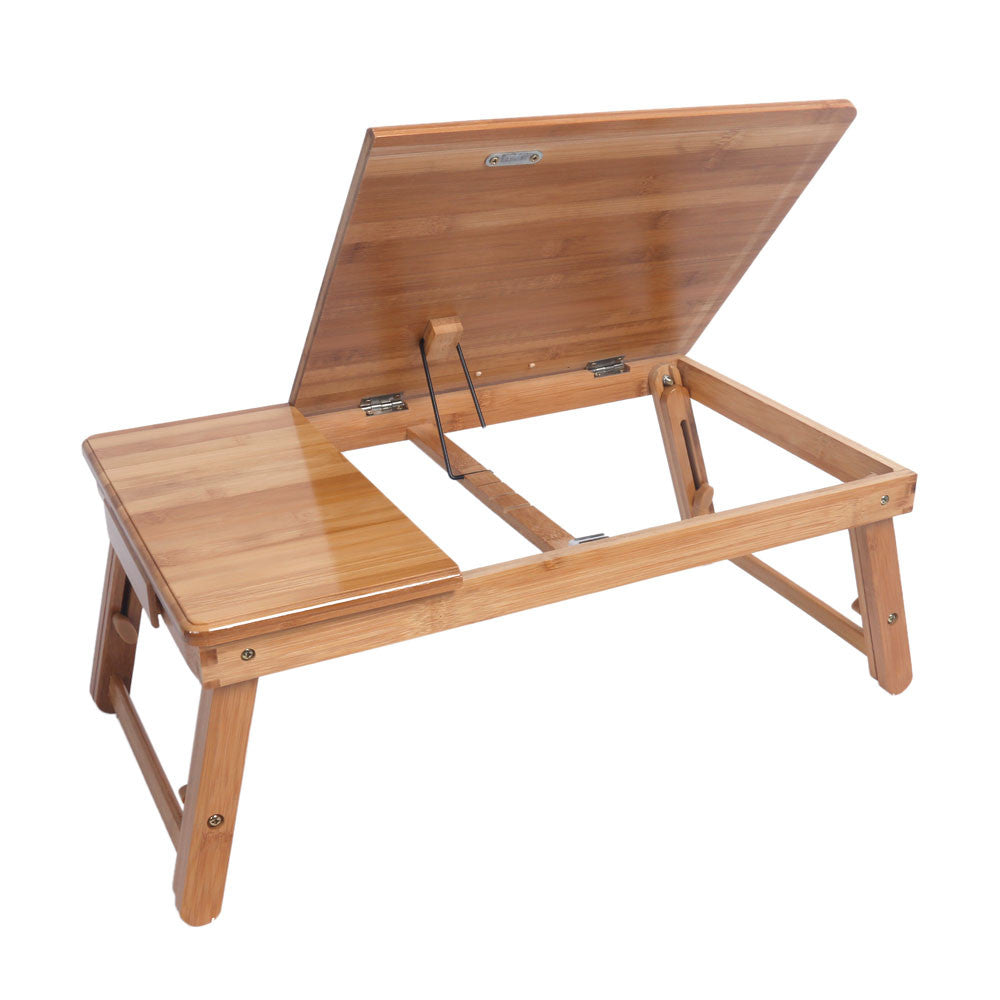 Groovy Folding Laptop Table Lap Desk Bed Portable Computer Tray Stand Holder Wood Read Interior Design Ideas Truasarkarijobsexamcom