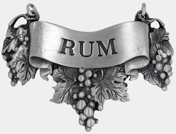 Rum Liquor Decanter Label