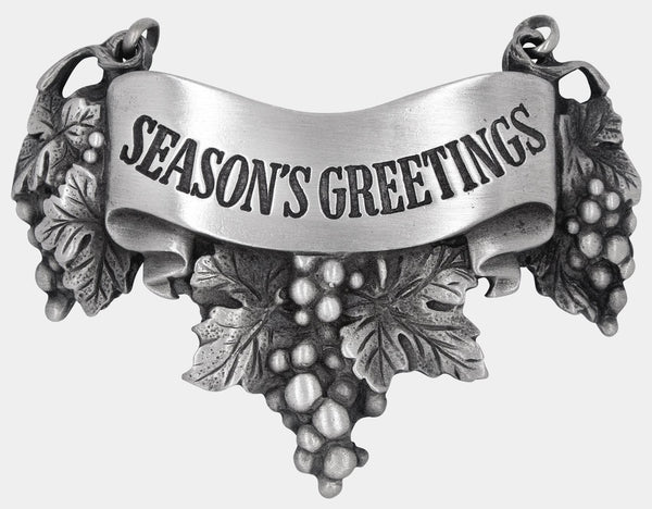 Season's Greetings Liquor Label