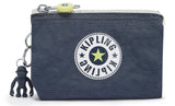 Kipling Creativity S Purse - Grey Slate Block