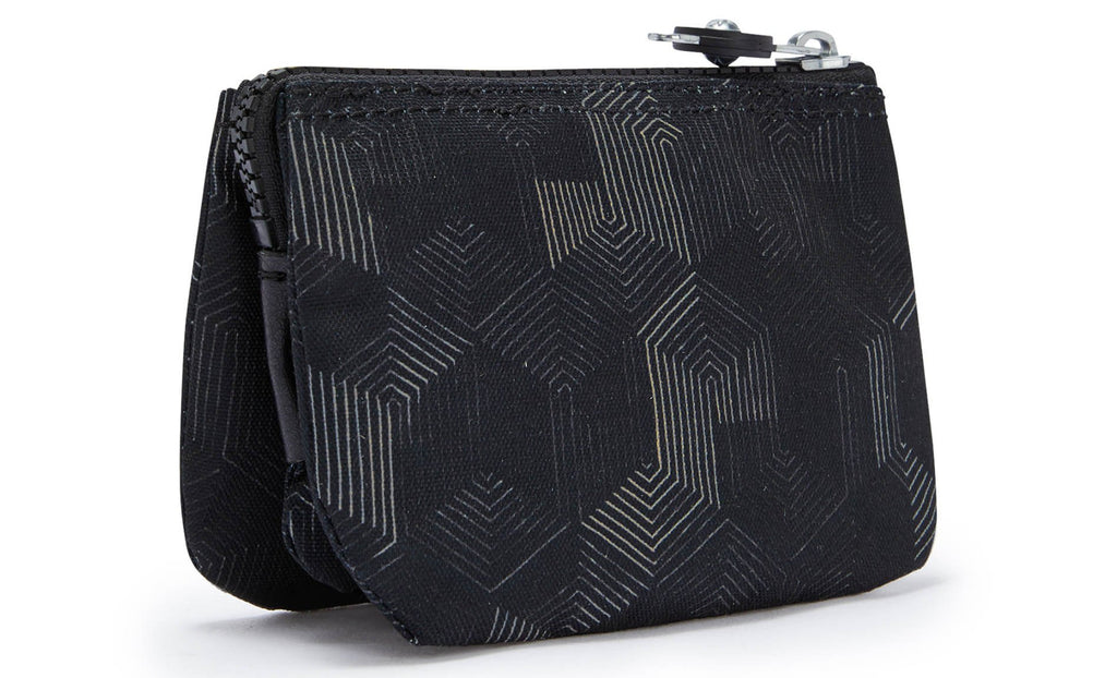 Kipling Creativity S Purse - Mysterious Grid