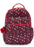 Kipling Seoul Backpack - Heart Festival