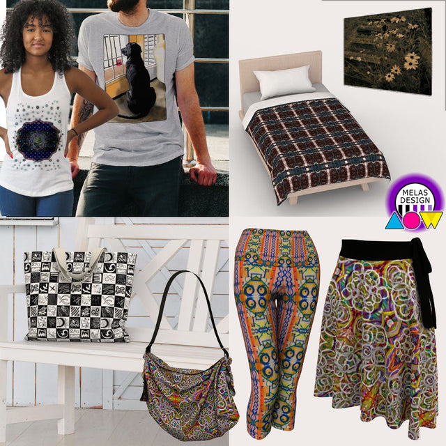 Melasdesign on Art of Where for upscale print to order on sporty fashion and accessories, bags, home decor, wall art, and more with art by Melasdesign / Susan Hicks