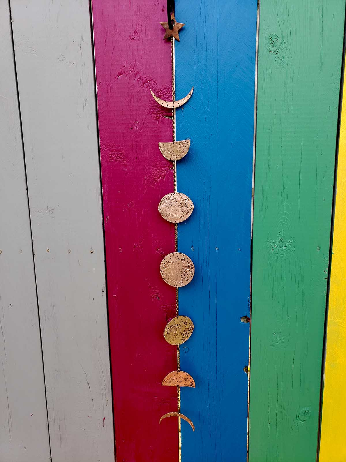 Bronze Moon Phase Hanging