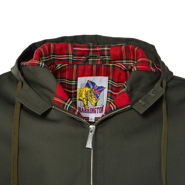 Blouson Harrington à capuche