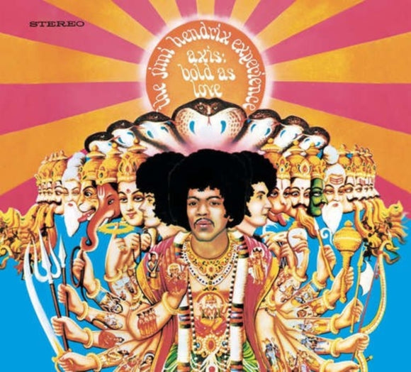 Jimi Hendrix Experience - Axis: Bold As Love LP