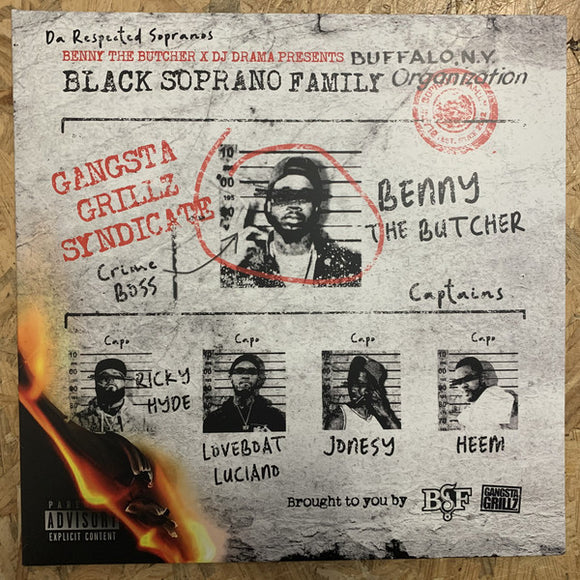 Benny The Butcher & DJ Drama - The Respected Sopranos LP
