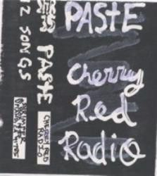 Paste - Cherry Red Radio Cassette
