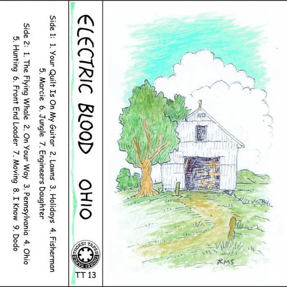Electric Blood - Ohio Cassette (1st Band of Robert Scott of The Bats/The Clean)