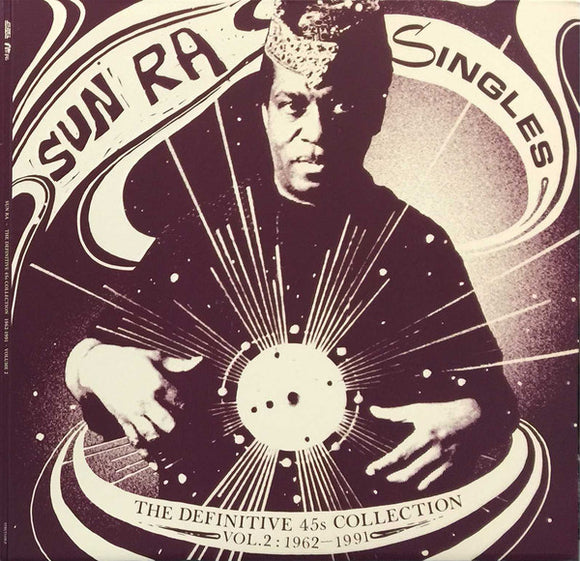 Sun Ra - Singles Volume 2: The Definitive 45s Collection 1962-1991 3xLP
