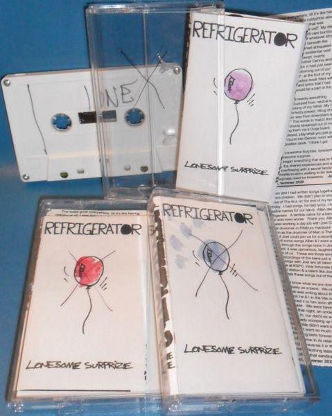 Refrigerator - Lonesome Surprize Cassette (Reissue)