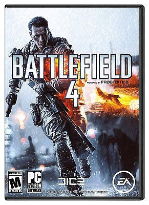 BATTLEFIELD 4 FOR PC - BRAND NEW & FACTORY SEALED