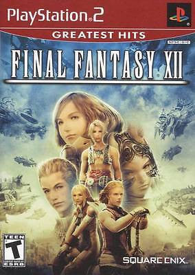 *NEW* PS2 FINAL FANTASY XII GREATEST HITS *SEALED*MCA
