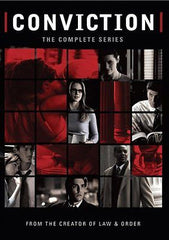CONVICTION COMPLETE SERIES New Sealed 3 DVD Set