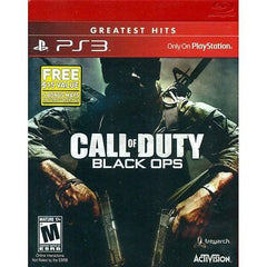 NEW Call of Duty Black Ops Sony Playstation 3 PS3 w/ First Strike Map Pack DLC