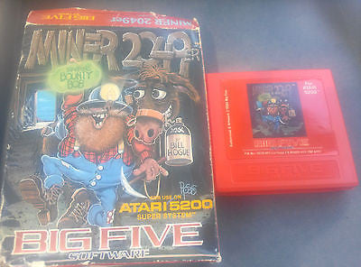 ***MINER 2049ER ATARI 5200  with original box