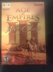 Age of Empires III: Warchief's War Chief Expansion - RTS War Strategy MAC NEW