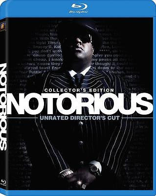 NOTORIOUS New Blu-ray Unrated Director's Cut Christopher Wallace Notorious BIG