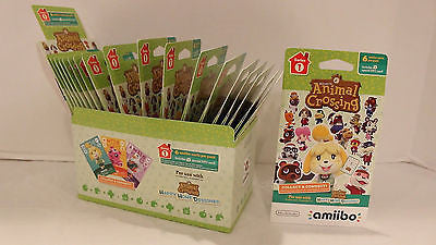 Animal Crossing Happy Home Designer Amiibo Card 18-Pack (6 Cards in 1 Pack)