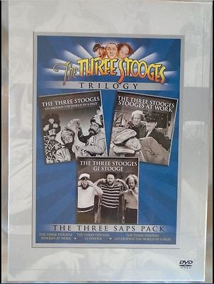 The Three Stooges TRILOGY DVD Set New & Factory Sealed!!!