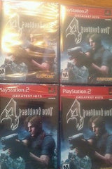 Resident Evil 4  (Sony PlayStation 2, 2005) greatest hits~  not from 3 pack