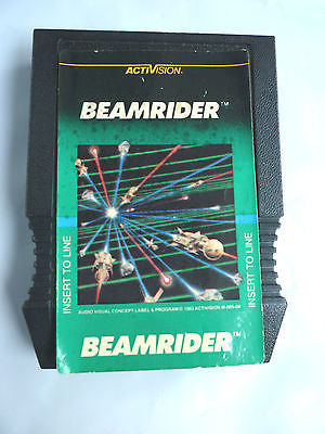 ***BEAMRIDER INTELLIVISION 1983 WITHOUT OVERLAYS. Not quite as RARE!