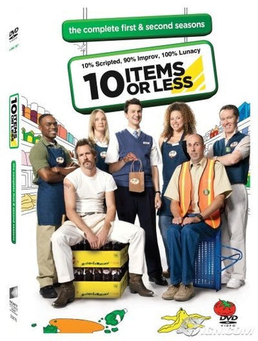 10 Items or Less: The Complete First and Second Seasons (NEW DVD, 2-Disc Set)