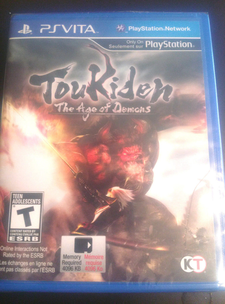 Toukiden: The Age of Demons  PS Vita NEW