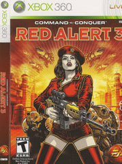 COMMAND & CONQUER RED ALERT 3  NEW XBOX 360