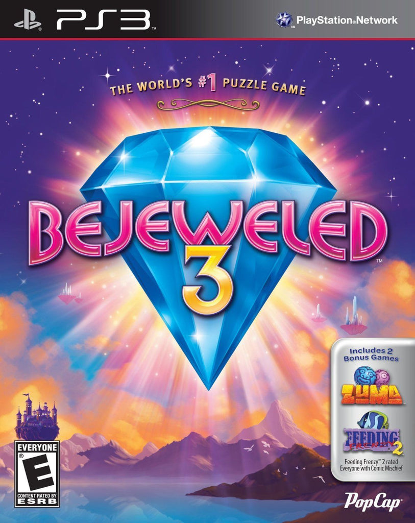 BEJEWELED 3 *NEW PLAYSTATION 3 PS3 GAME