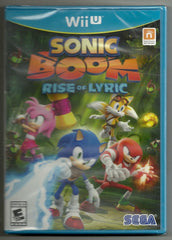 Sonic Boom: Rise of Lyric for Nintendo WiiU