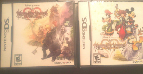 2 Games!! KINGDOM HEARTS 358/2 DAYS & Kingdom Hearts RECODED NINTENDO DS