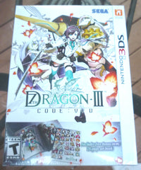 7th Dragon Code III: VFD Launch Edition (Nintendo 3DS, 2016) New
