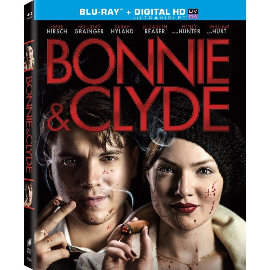 Bonnie and Clyde (Blu-ray Disc, 2014, 2-Disc Set, Includes Digital Copy) - NEW!!