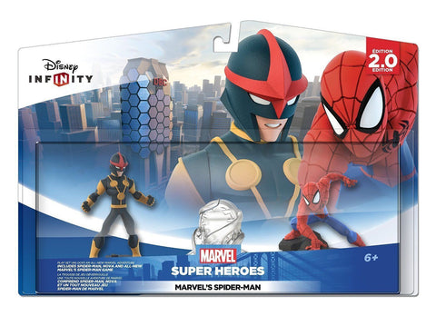 Disney Infinity: Marvel Super Heroes (2.0 Edition) Spider-Man and Nova Playset