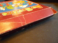 Burgertime (Intellivision, 1982) Box, Game, & Manual Tested & Working!