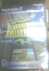 22 classic games!! Capcom Classics Collection  (Sony PlayStation 2, 2005) New