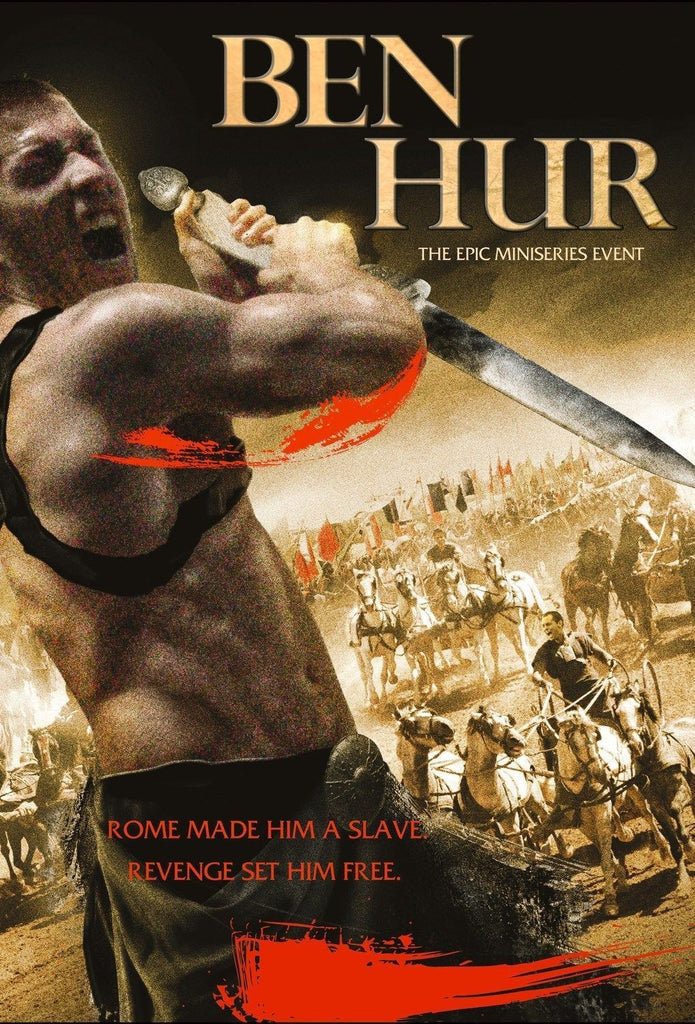 Ben Hur: The Epic Miniseries Event  NEW dvd