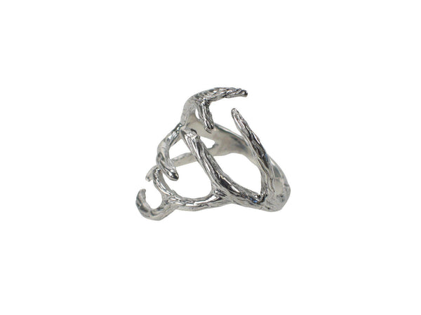 Antler Ring Rings Mimi + Marge Jewellery