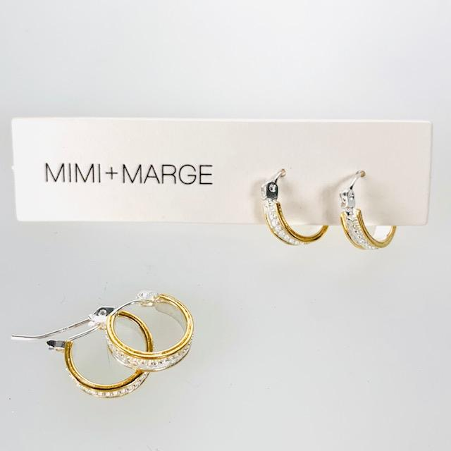 Langit Hoop Earrings Earrings Mimi + Marge Jewellery