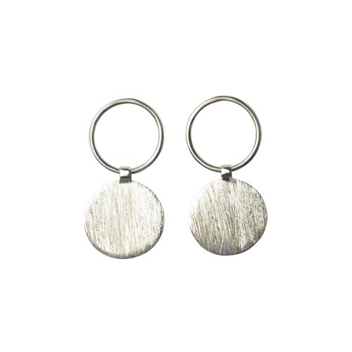 Zoey Open Circle + Circle Earrings Mimi + Marge Jewellery