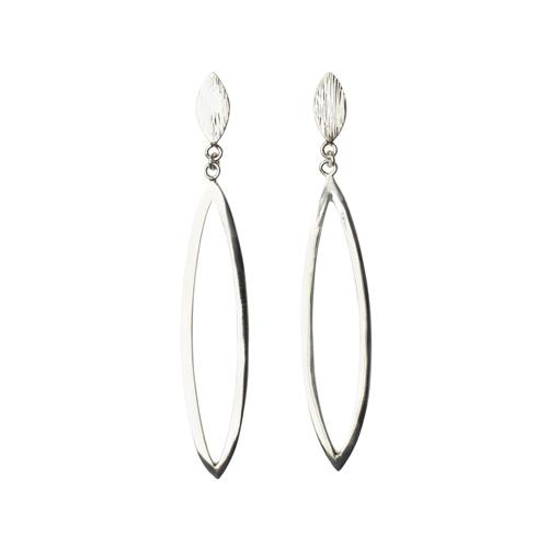 Zoey Open Oval Earring Earrings Mimi + Marge Jewellery