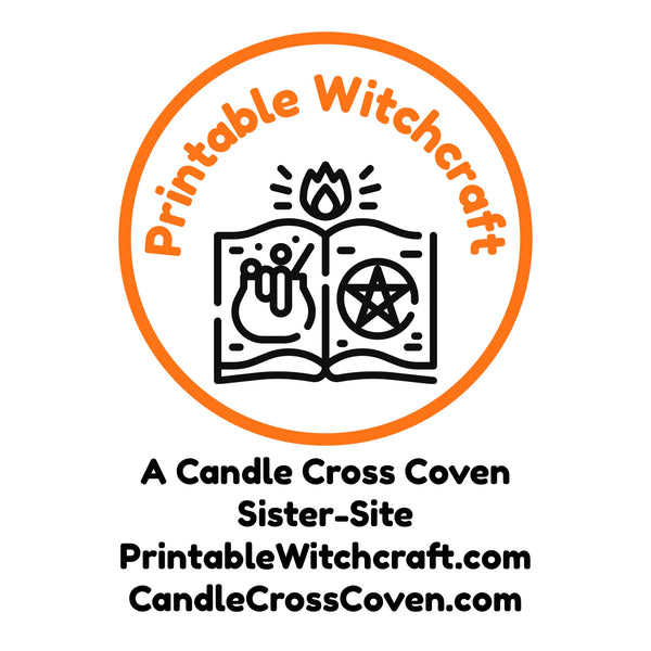 Introducing Candle Cross Coven's New Sister-Shop: Printable Witchcraft