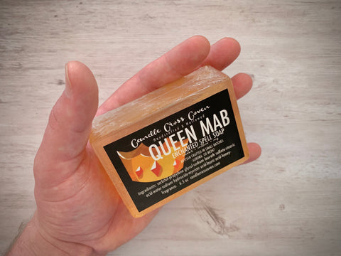 Candle Cross Coven's Queen Mab Enchanted Spell Soap