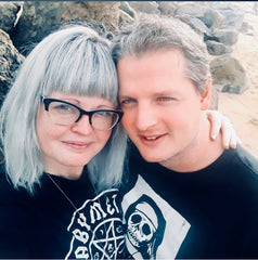 The owners of Candle Cross Coven Pat and Pie