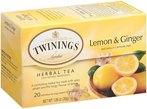 Lemon & Ginger, Herbal Tea
